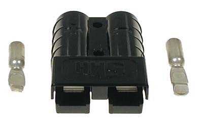 27815-G01 Plug Black SB50 with 10 -12 Gauge Contacts - Ezgo Electric 1983 to 1995