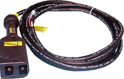 28137-G02 Powerwise Cord Set 10 Ft  3 Wire - Ezgo Electric
