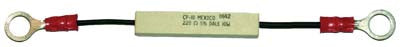 29696 Precharge resistor. Used with 36 Volt, 400 amp solenoid #30911