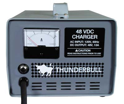 30820 Charger - 48V 13A Export Club Car 48V Powerdrive & IQ Thunderbull