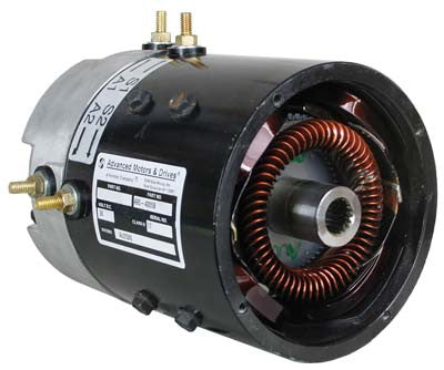 3264 Motor, Amd (Series), 36-Volt (2.5-Hp@2800 Rpm) Ezgo