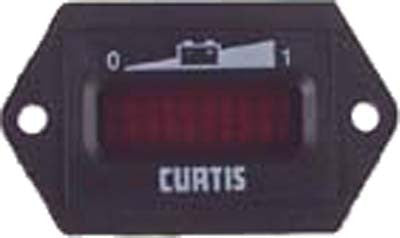 33636-G02 State Of Charge Horizontal  Curtis Gauge  24 Volt - Ezgo Electric
