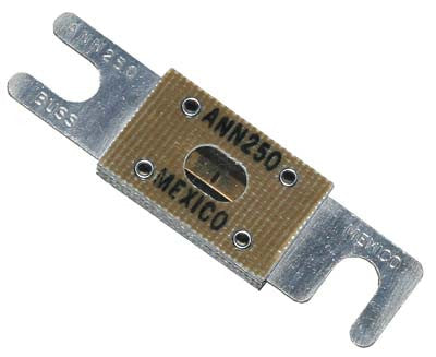 448 250 amp fuse - for Alltrax controller - Yamaha Electric, Club Car Electric,