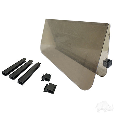 Tinted Hinged Windshield - Club Car DS 2000 to 2007.