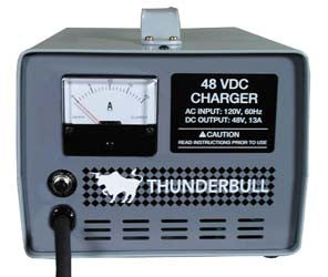6032 Charger 48 Volt 13 amp Thunderbull - Club Car Electric Powerdrive & IQ