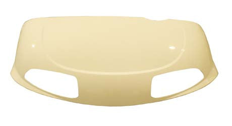 620227 Cowl Front with head light, Ivory - Ezgo RXV