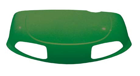 620228 Cowl Front with Head Light, Forest Green - Ezgo  RXV