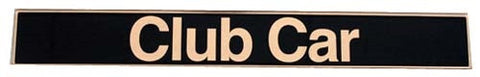 Factory Name Plate - Club Car DS 1982 to 2004