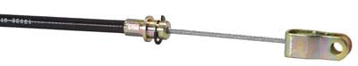 70701-G01 Brake Cable without Springs, Passenger Side - Ezgo 1974 to 1987