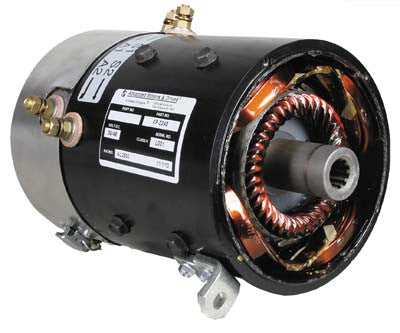 7119 AMD Series 36V Motor, 4 Hp@4150 Rpm - Club Car Electric