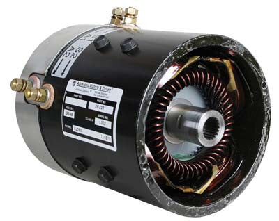7122 Motor, Amd (Series), 36-Volt (4-Hp@4400 Rpm) Yamaha
