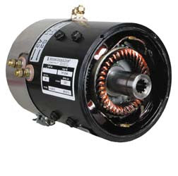 7123 AMD Series 36V 48V Motor, 6.1 Hp@4600 Rpm - Club Car Electric