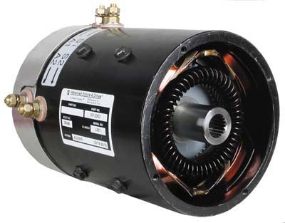 7124 Motor, Amd (Series), 36-Volt (8-Hp@1600 Rpm) Ezgo