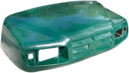 71468-G037 Cowl Front, Hunter Green - Ezgo ST350 & TXT