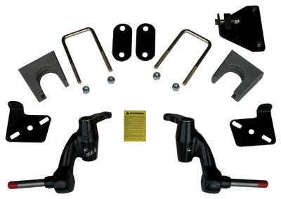 "Jake's spindle lift kit, (3"" lift). E-Z-GO gas RXV. 2008-up"