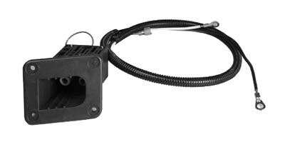 73149-G01 Dc Receptacle for Powerwise Charging System - Ezgo Medalist & TXT Electric 1996 & Up