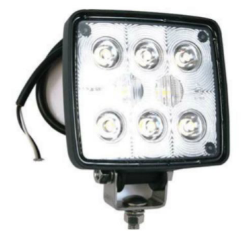812.4504 Led Work Lamp with High Output Led's