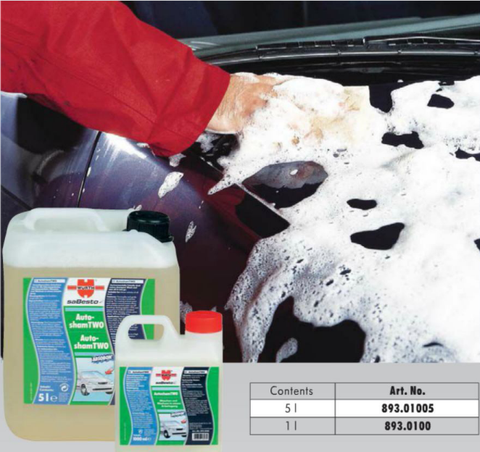 893.01005 Autosham Two Car Shampoo 5 Litre