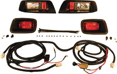 9016 Vertically Adjustmentable Light Kit - Ezgo Medalist & TXT