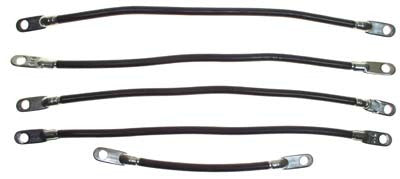 9342 Battery Cable set - Electric 48 Volt Yamaha G22
