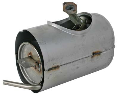 JW1-E4710-01-00 Muffler Assembly - Yamaha Gas G29