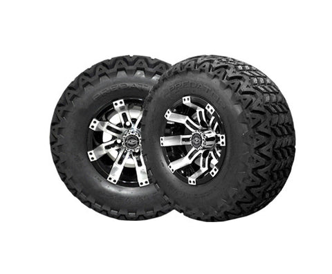 A19-007AT-Golf-Cart-Aluminum-Octane-10-inch-Rim-Machined-Black-with-All-Terrain-predator-tire-cartguy-madjax-ontario-canada-