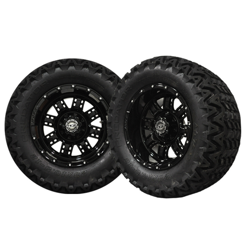 A19-027AT-Golf-Cart-12-inch-Transformer-Rim-Black-Wheel-with-All-Terrain-Predator-Tire-cartguy-madjax-ontario-canada