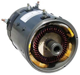 D395 GE Series 48V High Torque Motor - Club Car Electric 1994 & Up