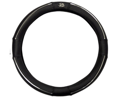 Golf-Cart-Steering-Wheel-Cover-madjax-Black-Chrome-cartguy-ontario-dealer-mjsc8005-club-car-ezgo-yamaha