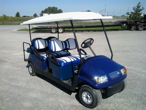 Club Car Gas Limo 6 Passenger Golf Cart - Custom