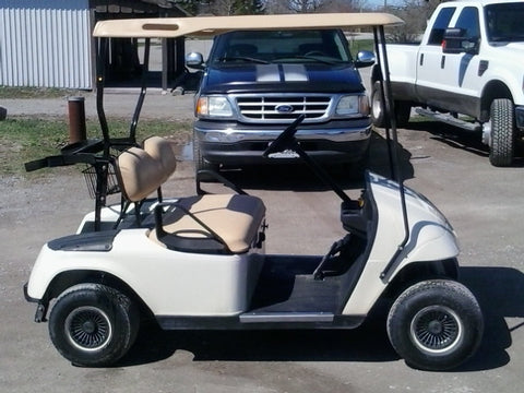 2007 Ezgo Gas Golf Cart with Warranty, just 3 left at this price