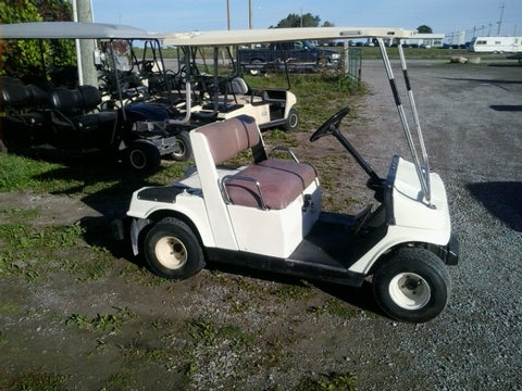 2 Yamaha G2 gas golf carts just scrapped!