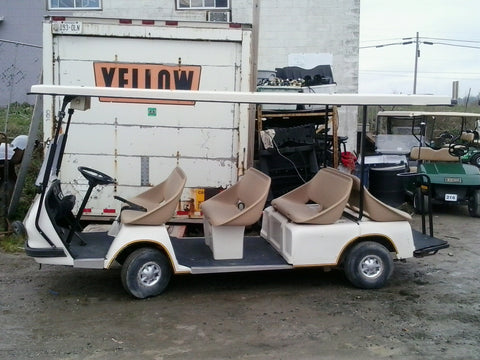 2000 Ezgo 8 passenger electric shuttle