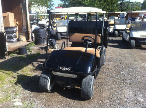 Black Ezgo Gas Workhorse Utility Vehicle