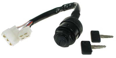 J17-82508-20-00 Key Switch with wire harness - Gas G1 Yamaha