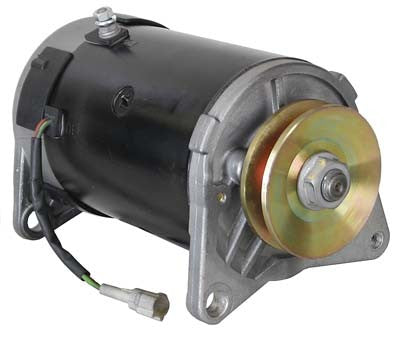 JN6-H1100-01 Starter Generator with Pulley - Yamaha Gas G16, G22, G29
