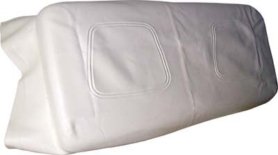 Seat Bottom White Covers Only - Yamaha G14, G16, G19, G20, G21, G22