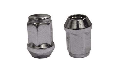 LUG16M-12-mm-x-1.25-Metric-Golf-Cart-Lug-Nuts-Chrome-rim-Wheel-madjax-cartguy-ontario-canada