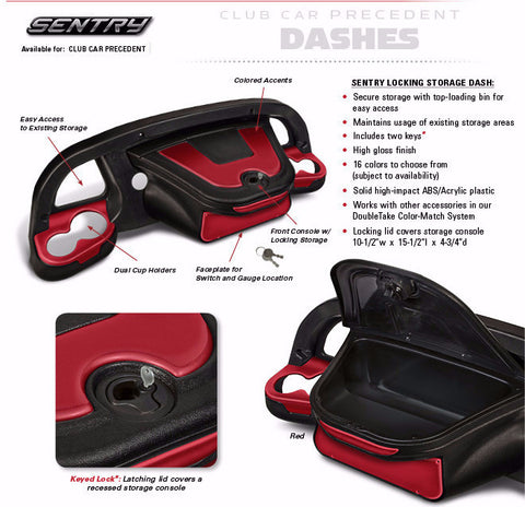 Sentry Dash Club Car Precedent
