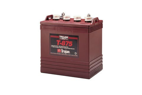 T875 Trojan Deep Cycle Battery Golf Cart 8V -2