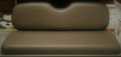 Ugly Brown Rear Seat Cushion Set.