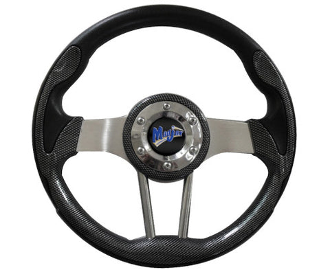 Volt-Colllection-Golf-Cart-Steering-Wheel-madjax-Carbon-Fiber-cartguy-ontario-dealer-mjvoltc-club-car-ezgo-yamaha