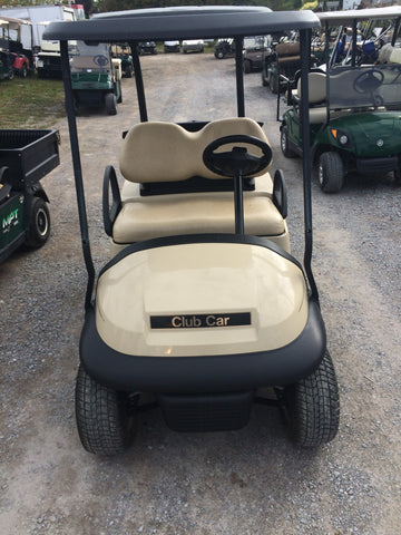 2015 Club Car Precedent Golf Cart with black roof