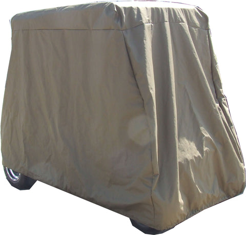 2 Seater Waterproof Canadian Made Golf Cart Storage Cover with Vents.