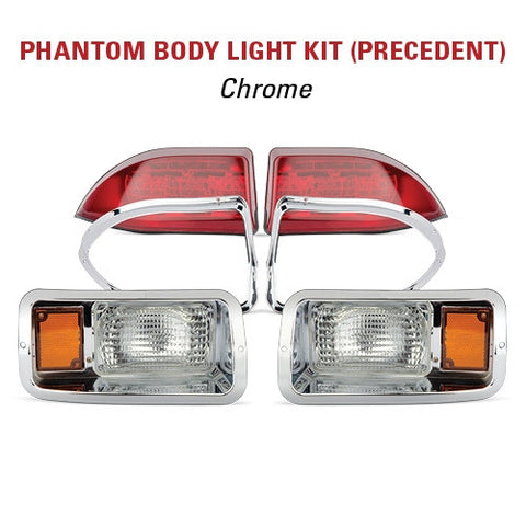 precedent chrome light kit for phantom body.