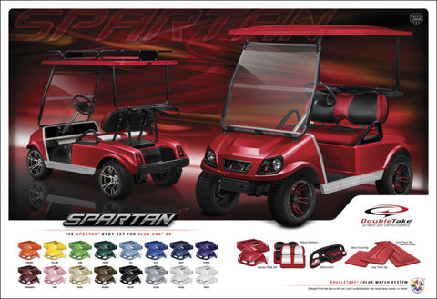 Club Car DS body kit available in 16 colours