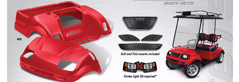 Yamaha Vortex body kit available in 16 colours