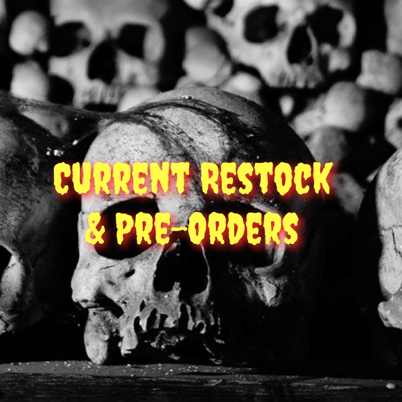 Current Restock & Pre-Order Bathbombs