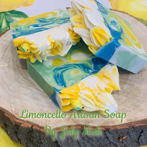 Limoncello High Top Soap