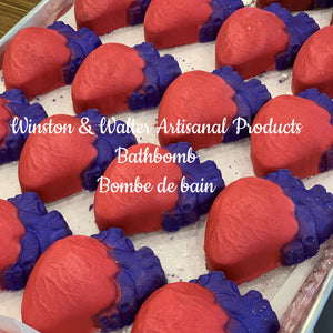 Heart & Stroke Foundation of Canada Charity Support Bath Bomb